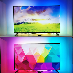 Image 5 - Ambilight TV Backlights Flexible LED light Tape Ribbon RGB Color Changeable TV Background Lighting HDTV TV HDMI sources Kit