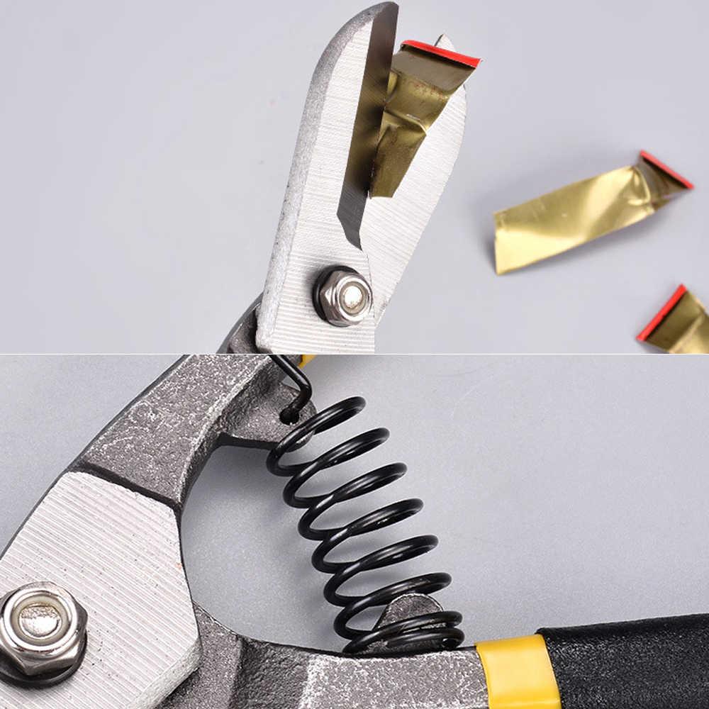 """Tesoura de corte de placa de metal, tesoura de aço de alumínio, ferramentas manuais 8 """"10"""" 12 """"14"""" ferramenta cortadora folha de ferro"""