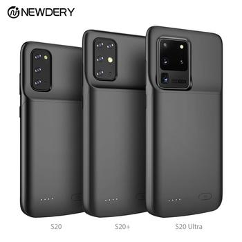 Newdery Battery case For galaxy S20 5G S20 plus S20 Ultra TPU design power case for Samsung Galaxy s20 s20+ s20 ultra black фото