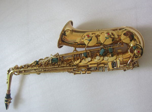 Image 5 - High quality yas82Z yas875 yas62 Model Professional Alto Saxophone E flat Electrophoresis Gold Musical Instruments and Hard box