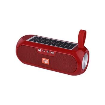 Solar charging Bluetooth Speaker Portable Column Wireless Stereo Music Box Loudspeaker Outdoor Waterproof altavoces 10