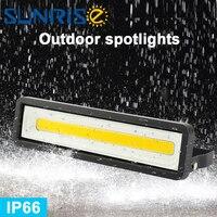 야외 투광 조명 AC85-265V ip65 50 w 방수 풍경 야외 주택 조명 홍수 빛