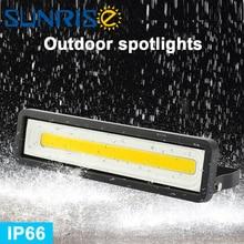 ضوء غامر خارجي AC85 265V IP65 50 واط مقاوم للماء المناظر الطبيعية في الهواء الطلق الإسكان الإضاءة كشاف ضوء