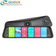 4GB + 32GB 12 Zoll Android 8,1 Smart Auto Dvr Rückspiegel Kamera Video Recorder ADAS 4G WIFI Dash Cam AR GPS Navigation Sony HD