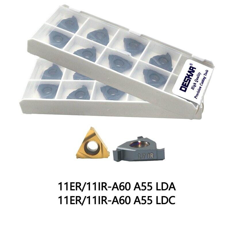 10P 16ER 1.0ISO LDA Threading Blade CNC Carbide Insert  For Stainless Steel