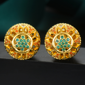 Image 3 - GODKI Luxury Vintage Hollow Ball For Women Wedding Party Cubic Zirconia Earring High Jewelry Addiction