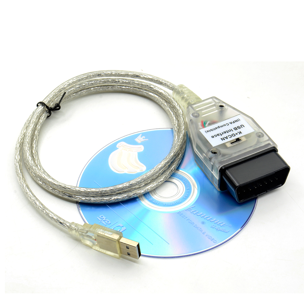 The newest for BMW INPA K+CAN K CAN INPA With FT232RL Chip INPA K DCAN USB Interface Full Diagnostic For BMW From 1998 To 2008(China)