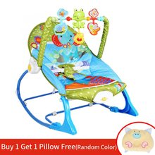 Multi-function Baby Cradle Swing Reborn Eletric Rocking Chair With Music Infant Swings Bouncer hamaca bebe Cradle Seat Rocker(China)