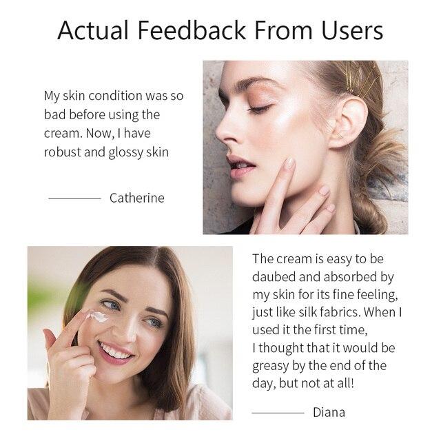 BREYLEE Hyaluronic Acid Face Cream Serum Anti Aging Wrinkle Remover Facial Creams Mask For Skin Whitening Moisturizer Day Cream