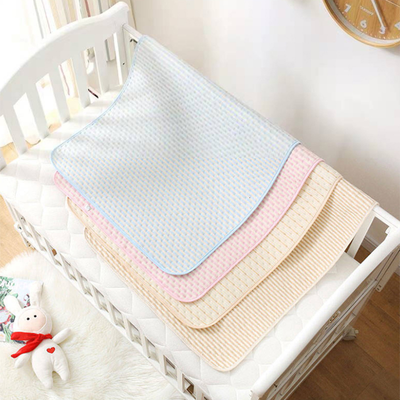 2019 New Baby Articles Baby Pure Cotton Urine Pad Waterproof Tuba Baby Urine Pad Mattress Menstruation Nursing Pad Baby Sheets