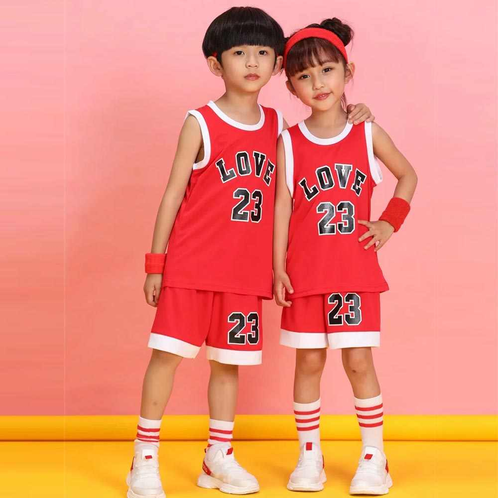 Kinder basketball jersey sport Kleidung benutzerdefinierte Kinder Blank Basketball Sets jersey Jungen und mädchen Ausbildung Basketball kleidung