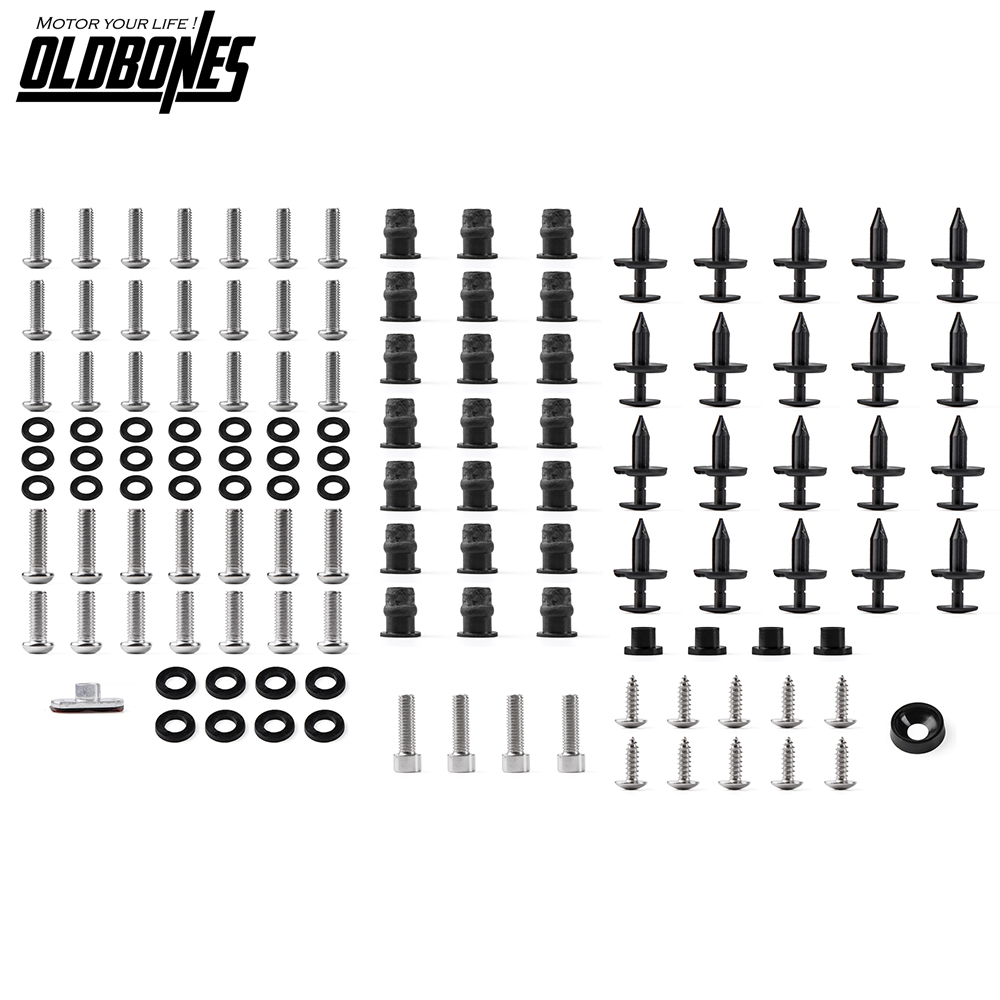 Motorcycle Fairing Fastener Bolt <font><b>Kit</b></font> <font><b>Body</b></font> Screws Full Set for <font><b>Yamaha</b></font> <font><b>R6</b></font> YZF-<font><b>R6</b></font> YZF <font><b>R6</b></font> 2006 2007 image
