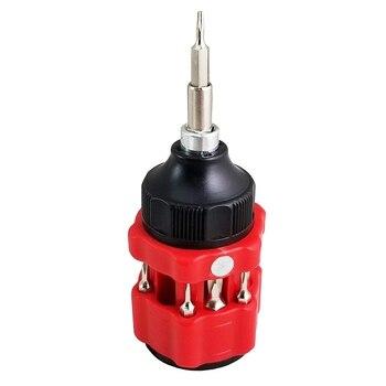 13 في 1 المغناطيسي الكروم الفاناديوم الصلب مفك بت مجموعة ، لإصلاح عدة أدوات مع حقيبة للتخزين