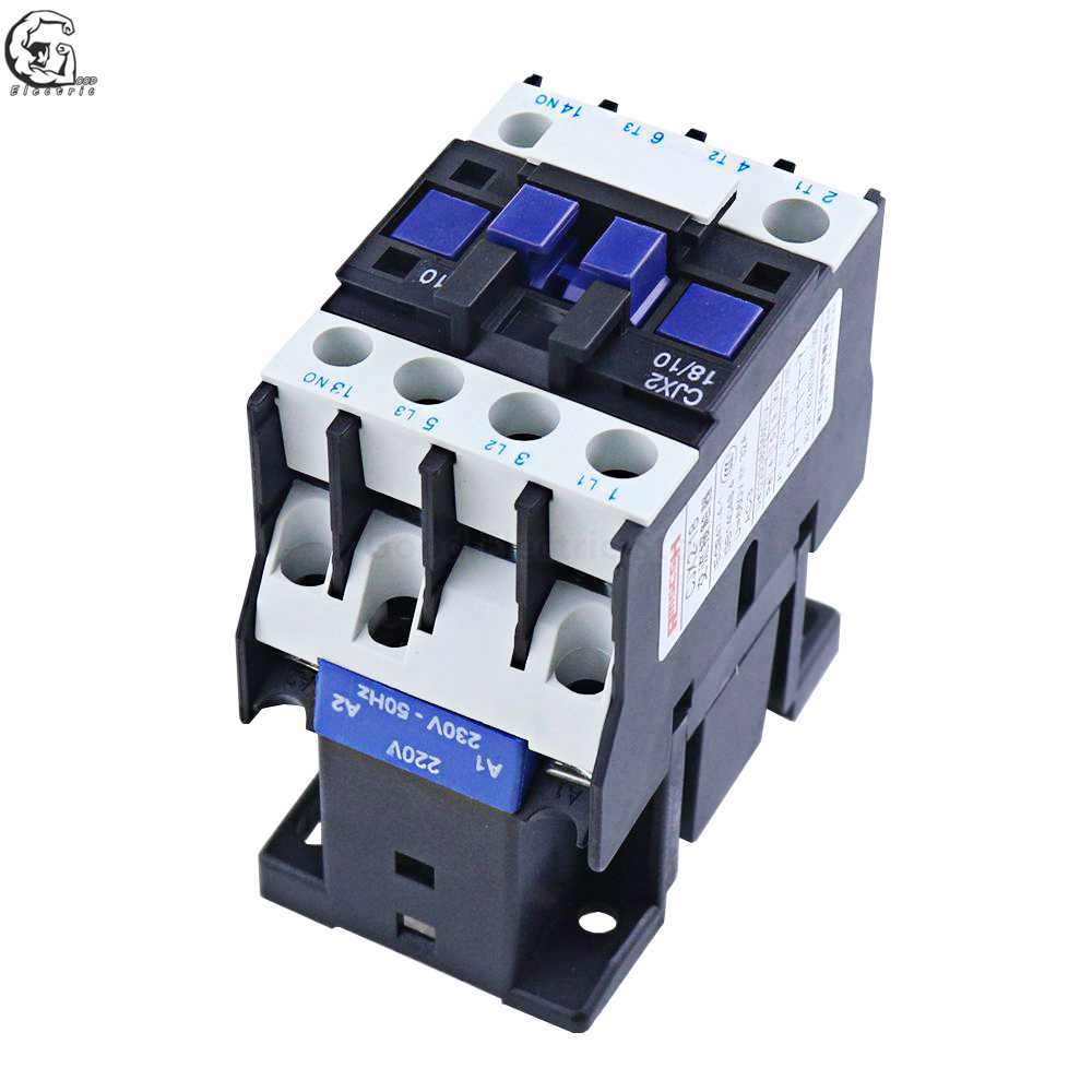 New CJX2-2501 AC Contactor 220V 50//60Hz Coil 25A 3-Phase 3-Pole 1NC