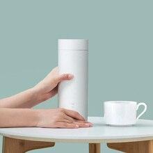 Youpin Viomi חשמלי כוס ניידת 400ml בקבוק נירוסטה עבור תה קפה חלב אבקת נסיעות מיני קומקום