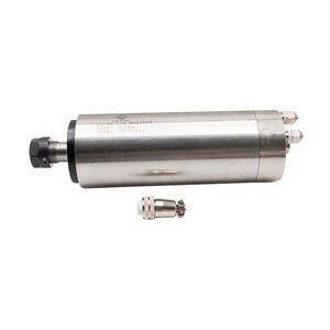 Image 3 - 1 قطعة 0.8KW 1.5KW 2.2KW المغزل موتور المياه المبردة 80 مللي متر 65 مللي متر ER11 ER16 ER20 110V 220V النقش آلة المغزل المحركات ل cnc
