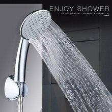 Смесители для душа для ванной комнаты, высокое качество, душевая головка, высокое давление, регулируемый, повышающий, ручной для экономии воды, насадка-спрей 19OCT21