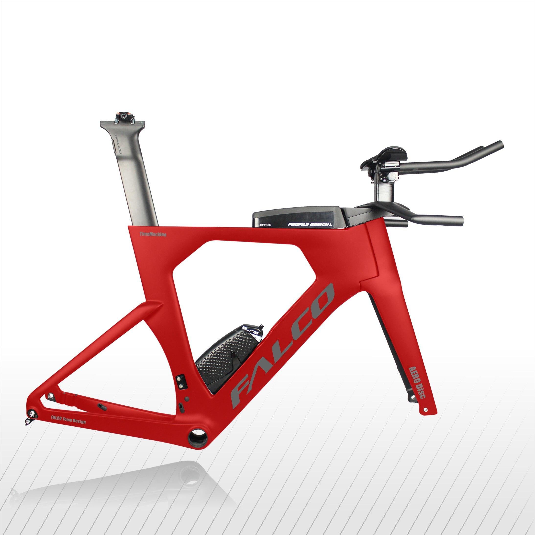 Китайский Топ Дизайн диск Триатлон велосипедная Рама карбоновый диск время пробный TT Frameset TT912