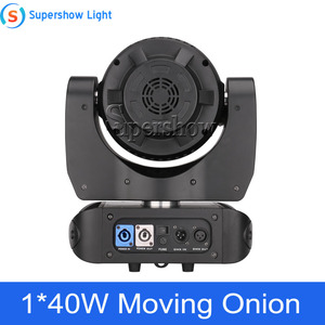 Image 4 - Stage Light Moving Head Lighting 1*40W RGBW 4in1 +76*0.2W SMD RGB Moving Onion for Disco Event Bar Party Decoration