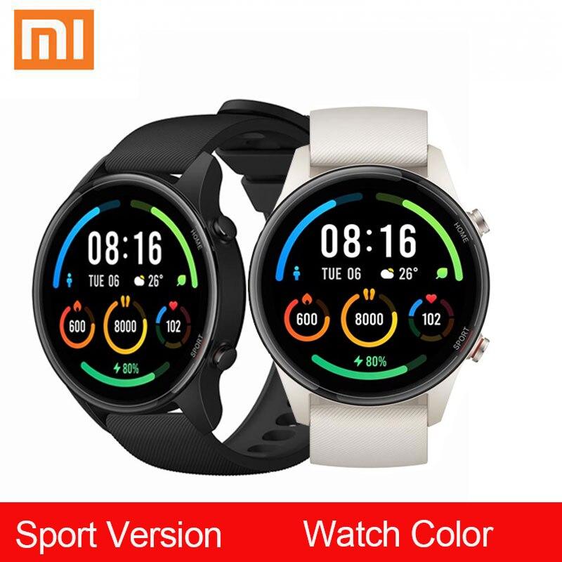 Xiaomi-reloj inteligente Mi de Color, pulsera con Pantalla AMOLED de 1,39 pulgadas, GPS, GLONASS, Beidou, 117 modos deportivos, rastreador, bluetooth 5,0, NFC