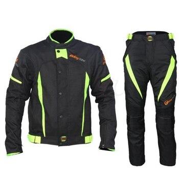 Motorcycle Jacket Pants Motorbike Riding Protective Suit Full Race season Motorcyclist Clothing Unisex For Yamaha FZ8 r1 r6 r3