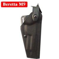 Szybkozwalniający Tactical Beretta M9 92 96 pistolet kabura polowanie Airsoft wiatrówka pas kabura pistolet futerał do przenoszenia akcesoria do pistoletu ręcznego w Kabury od Sport i rozrywka na