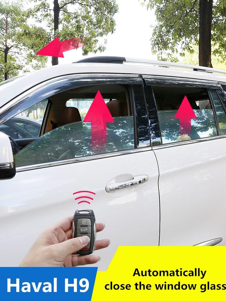 PARA Haval H9 vidro da janela automática levantamento multi-propósito modificação peças Haval H9 fechar Automaticamente a janela de vidro