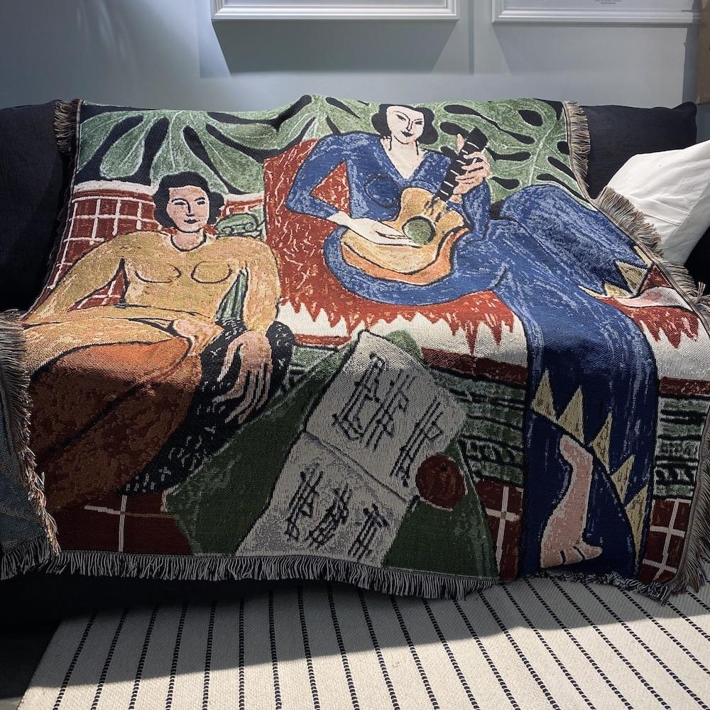 Guitar woman Matisse