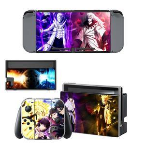 Image 5 - Pegatina de piel de Naruto para consola Nintendo Switch, controlador para NS, pegatina de vinilo
