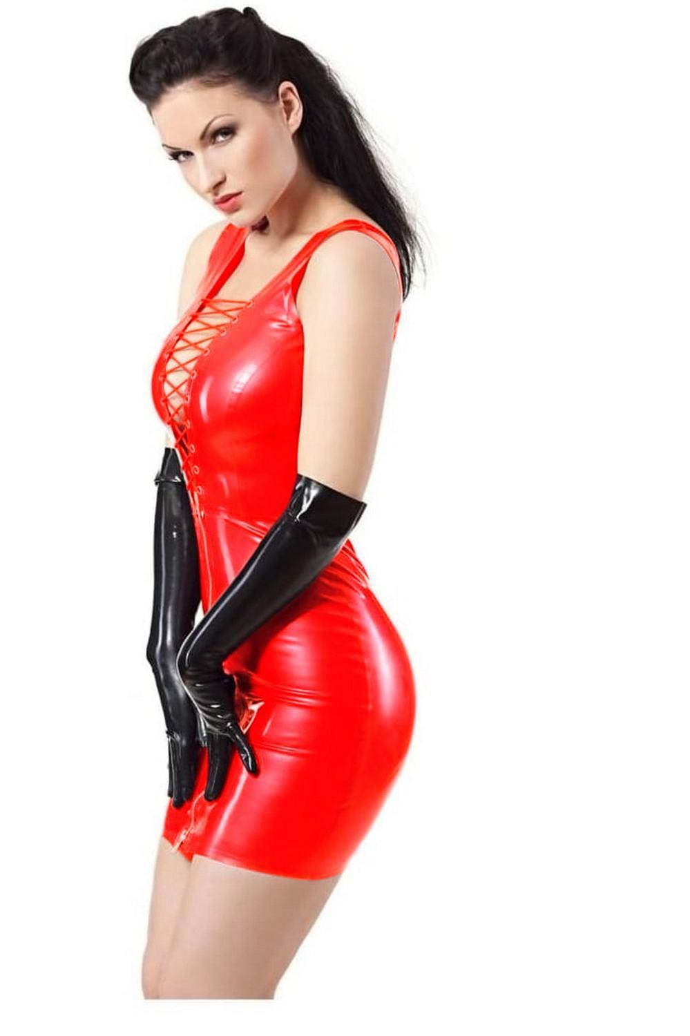 Plus <font><b>5XL</b></font> 6XL Women's <font><b>Sexy</b></font> PU Mini <font><b>Dress</b></font> Bondage Clubwear Party <font><b>club</b></font> 2019 Cosplay Sleeveless Bodycon PVC Sheath <font><b>Dress</b></font> Vestidos image