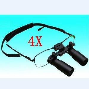 Image 3 - Keplerianas estilo Binocular Dental lupa 3X 4X 5X 6X 7X lupas médicas quirúrgicas ENT microscopio 3.5X 4.5X 5.5X gafas lupa