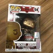 Funko Pop Michael Jordan Vermelho Jersey Figura De 10 Polegadas