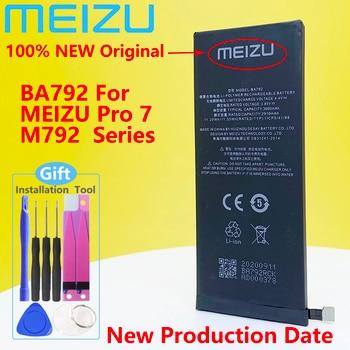 Meizu 100% Original 3000mAh BA792 New Battery For Meizu Pro 7 M792Q M792C M792H BA791 PHone High Quality+Tracking Number meizu 100% original 3060mah bt65m battery for meizu mx6 mobile phone battery with tracking number