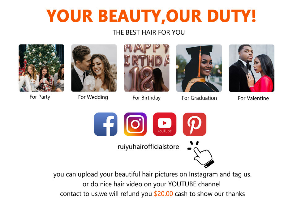 H7f14a50c31c64b52b6e23678014d379bK Human Hair Brown Bundles With Closure Brazilian Straight Hair Weave Bundles With Closure Middle Ration 10- 26 Inch NonRemy RUIYU