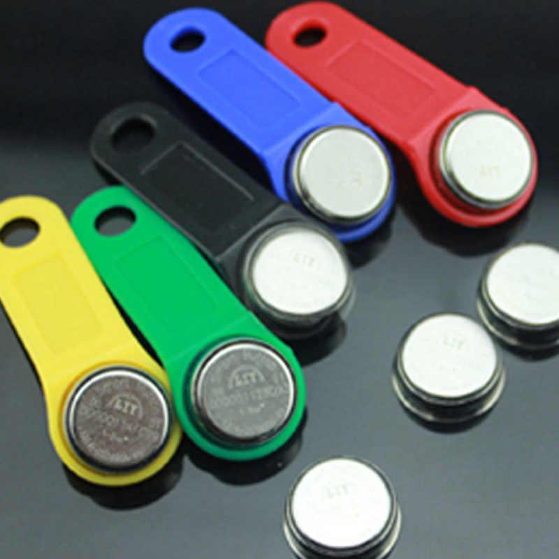 Touch Memory TM Kunci DS1990A-F5 Ibutton Copy Kartu Rewritable RFID Clone Kunci Duplikat