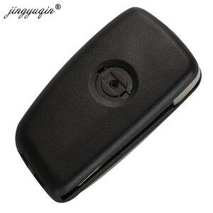 Image 4 - jingyuqin 2/3 Buttons 433MHz 4A PCF7952E Flip Remote Key For Nissan Qashqai J11 Pulsar C13 Juke F15 X Trail T32 Micra CWTWB1G767