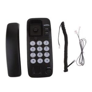 Image 4 - Tragbare Hängen Corded Telefon Hause Wand Linie Telefon Büro Business