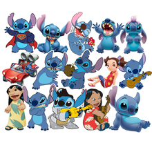 55Pcs/Set Classics Lilo Stitch Cute Cartoon Stickers Scrapbooking For Luggage Laptop Notebook Car Motorcycle Toy Phone