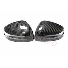 Real Carbon Fiber Rear View Side Mirror Cover For Mercedes Benz R172 R197 R231 SLC SLK SL SLS AMG