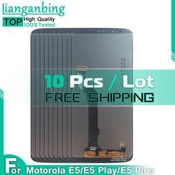 10 Pcs 10Pcs LCD For Motorola Moto E5 PLUS XT1924 XT1924-1 E5 Play XT1920 LCD Display E5 XT1944 Touch Screen Panel Replacement
