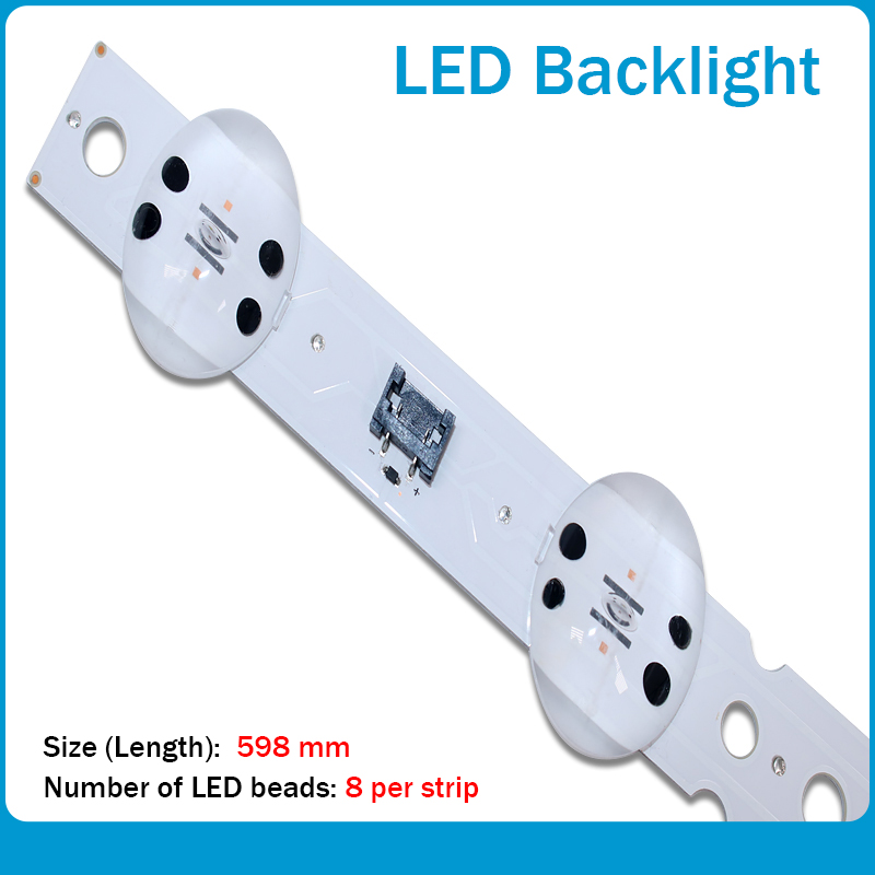 New 15PCS Origina 598mm LED Backlight Strip 8 Lamp For LG SSC_55UK63_8 LED_SVL550AS48AT5_REV1.0 171201 E469119 For Lg Led Strips