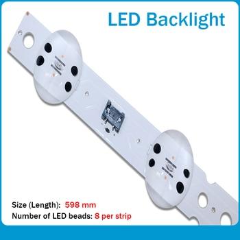 New 15PCS Origina 598mm LED Backlight strip 8 lamp For LG SSC_55UK63_8 LED_SVL550AS48AT5_REV1.0 171201 E469119 for lg led strips led панели lg 72wx70mf