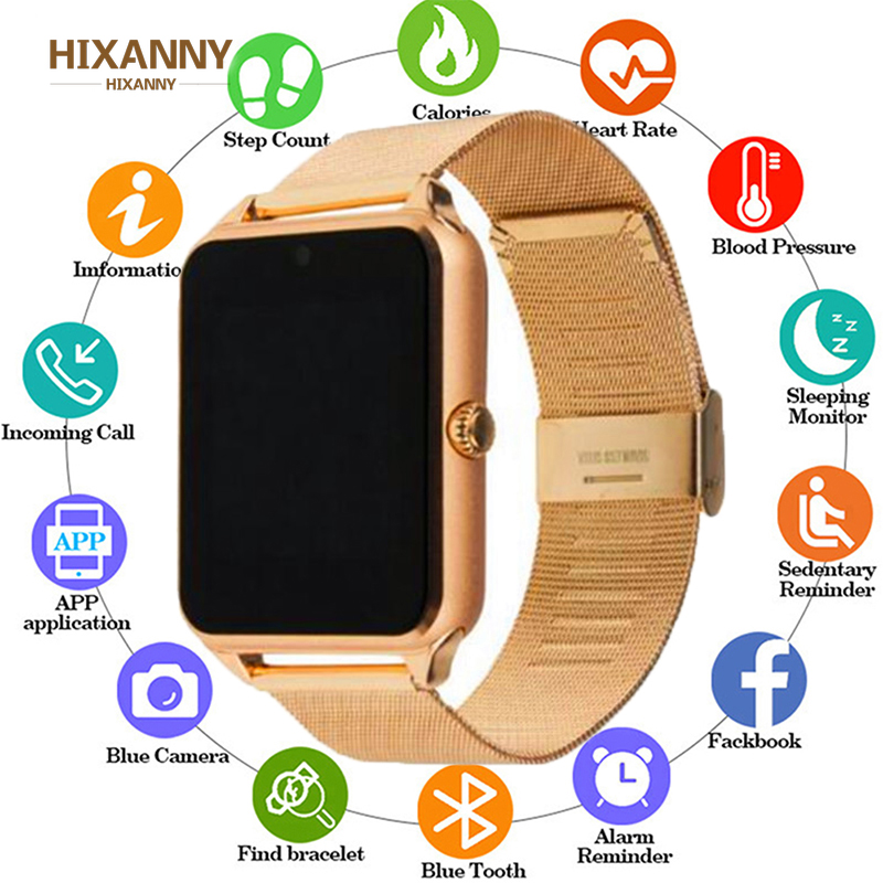 2019 Smart Watch GT08 Plus Metal Clock Support Sim TF Card Slot Push Message Bluetooth Connectivity Android IOS Phone Smartwatch