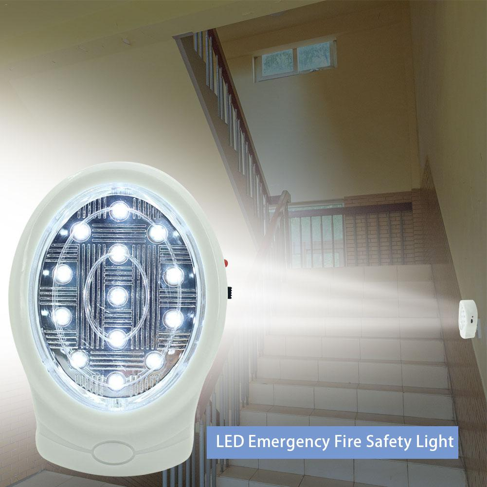 LED Emergency Fire Safety Light For KTV Bars Rooms Entertainment Party Events
