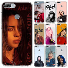 Billie Eilish beautiful cute girl Case For Huawei Honor 10 9 Lite Y5 Y6 Y7 Y9 2019 9X 8X 8S 8A Pro 7A 10i 20 Nova 6E V30 Phone C(China)