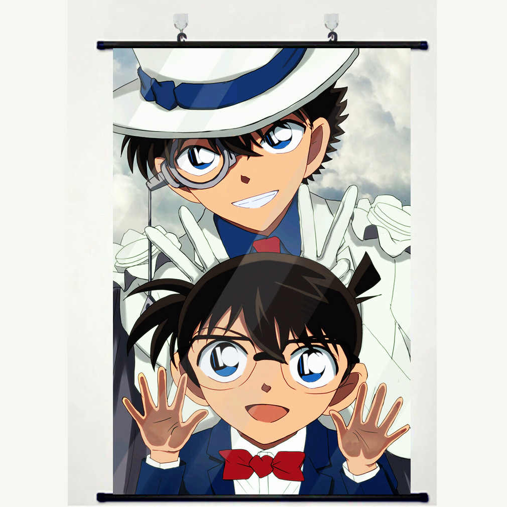 Japanese Anime Detective Conan Kaitou Kiddo Wall Scroll Mural Poster Wall Hanging Poster Home Decor Art Collection