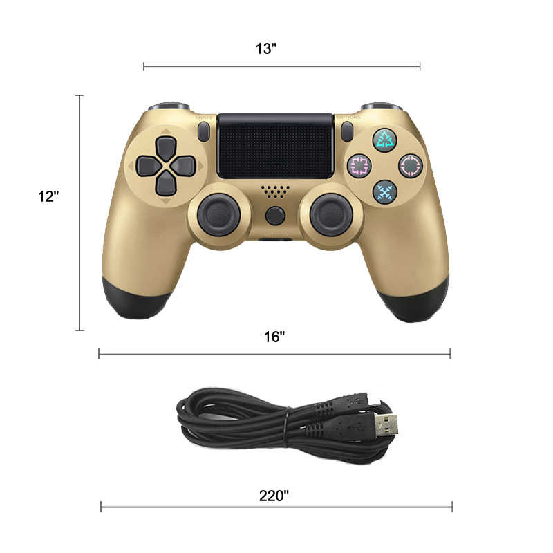 USB Kabel Controller Gamepad untuk Sony Ps4/PS3 Permainan Joystick Controle untuk Playstation4 Konsol Getaran Joypad dengan Kabel