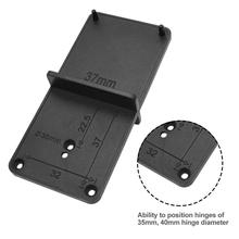 Hole-Opener Template-Door Woodworking Locator Hole-Drilling-Guide Diy-Tool 40mm 35mm