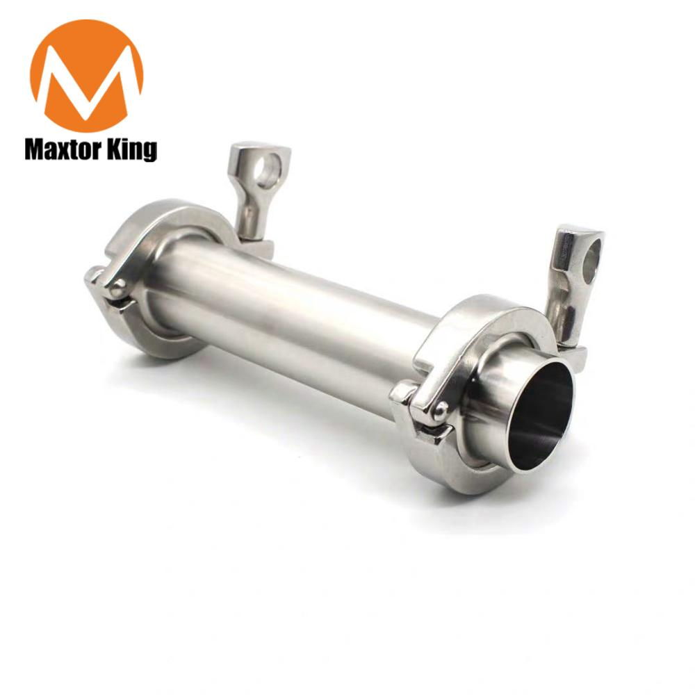 "MK 1"" X 6"" BHO Extractor Kit SS304 Stainless Steel Vacuum Chamber/Tube"