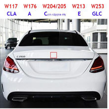 Значок с Логотипом Звезды среднего багажника, значок с логотипом для A C E CLA GLC класс 3, с оригинальной дугой W117 W176 W177 W204 W205 W213 W253 W212